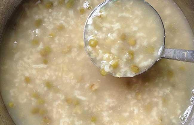 稻米绿豆粥