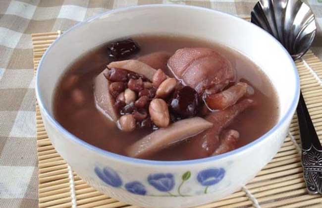 红豆乌鸡汤