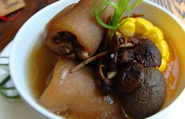 杜仲猪尾汤的功效和做法