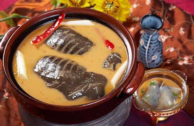 乌龟黑豆汤