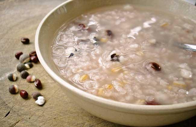 薏米红豆芡实粥