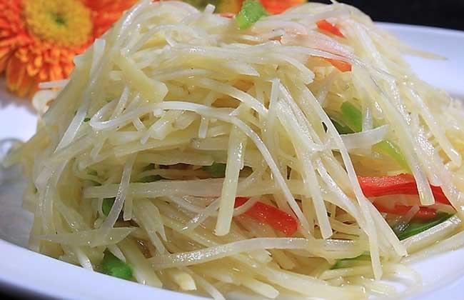 青椒土豆丝怎么做好吃?