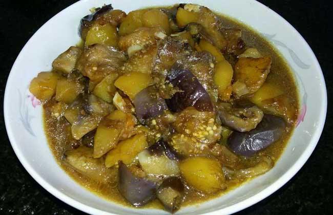 茄子炖土豆