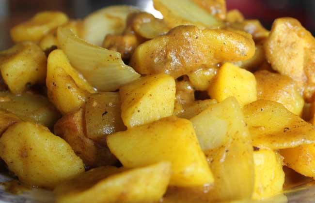 咖喱土豆的家常做法