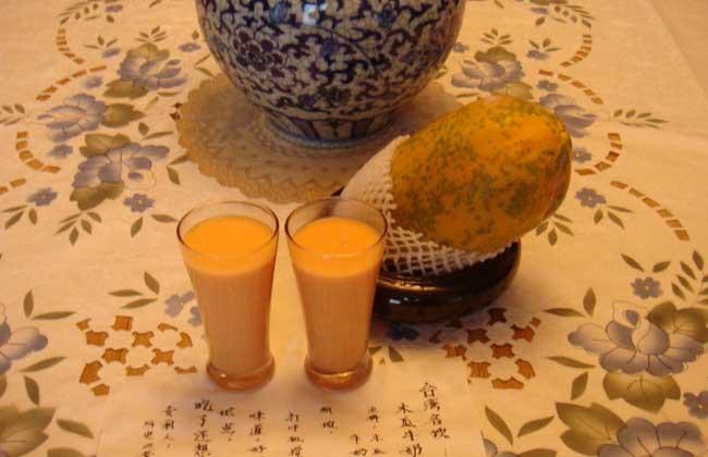 木瓜牛奶果汁