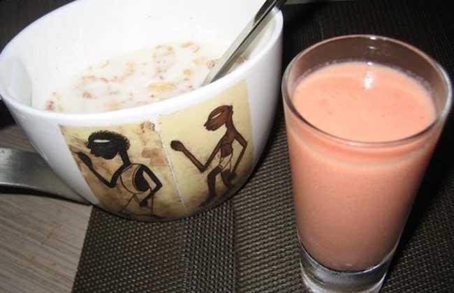 木瓜牛奶麦片