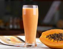 木瓜牛奶的功效和做法