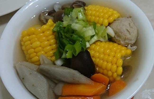 牛蒡五行蔬菜汤
