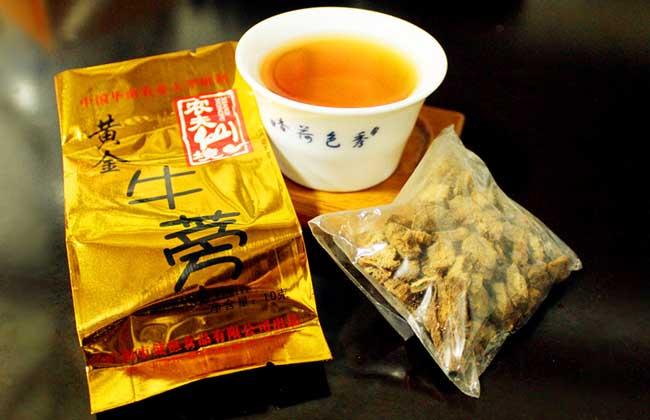牛蒡茶减肥吗
