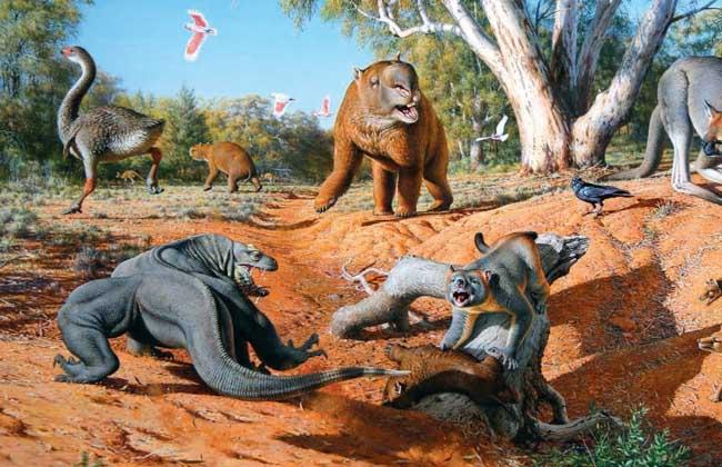 古巨蜥怎么灭绝的
