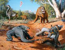 古巨蜥怎么灭绝的?