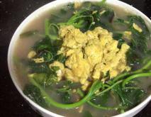 苋菜鸡蛋汤的功效及做法