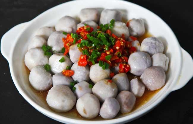 剁椒蒸芋头的功效及做法