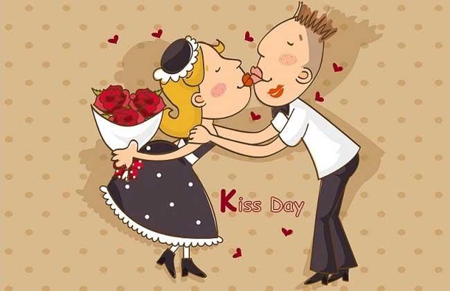 亲吻情人节