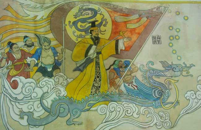 黄帝战蚩尤的神话传说