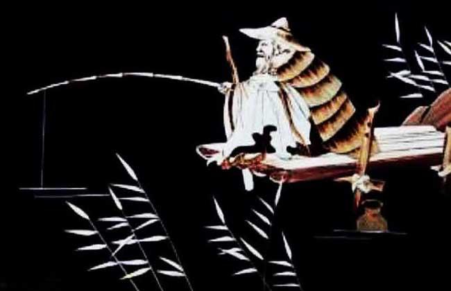 姜太公钓鱼愿者上钩的故事