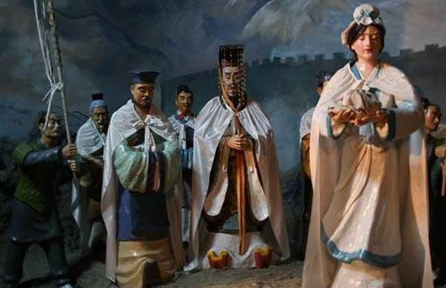 孟姜女哭长城的故事传说