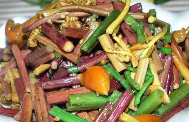 蕨菜炒肉的功效及做法