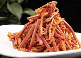 酸辣蕨菜的功效及做法