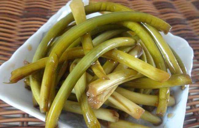 家常蒜苔的腌制方法