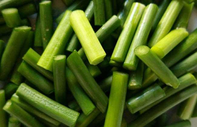蒜苔多少钱一斤?