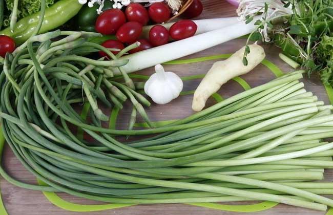 吃蒜苔能减肥吗?