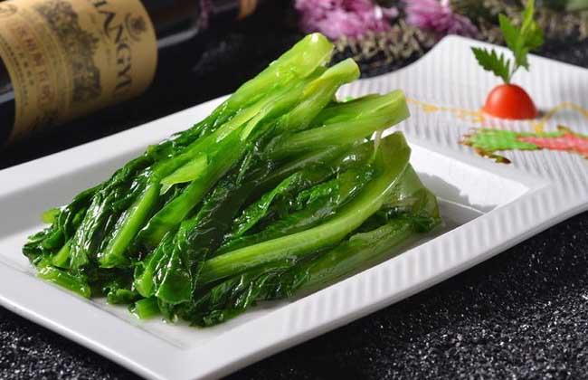 清炒油麦菜