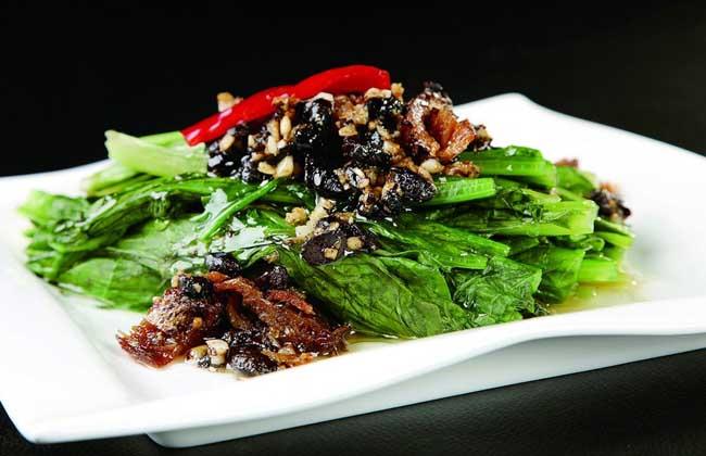 豆豉鲮鱼油麦菜的功效及做法
