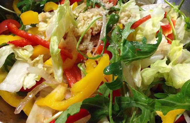 油麦菜沙拉的功效及做法