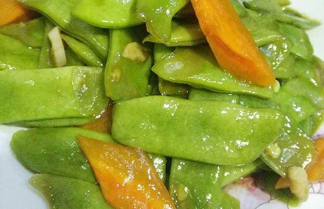 蚝油白扁豆