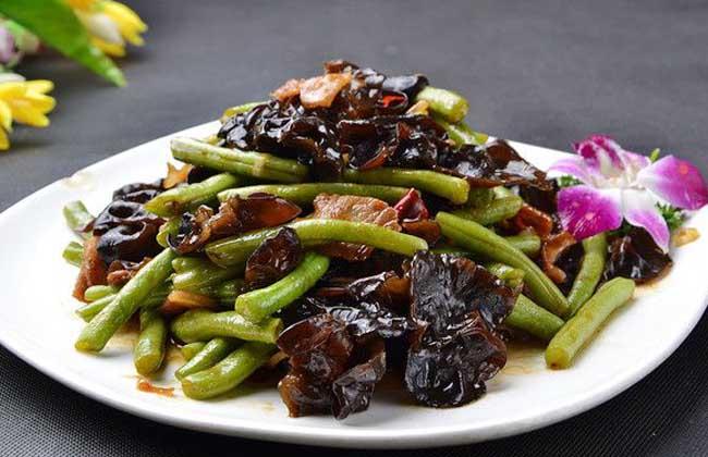 木耳炒刀豆