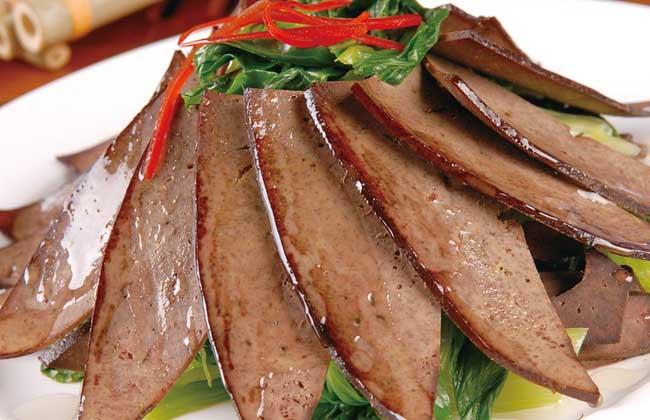 猪肝的营养价值