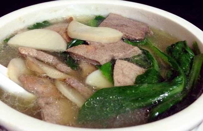 猪肝汤的家常做法大全