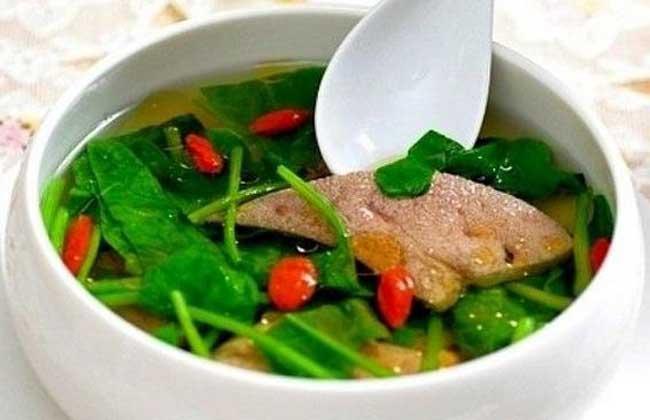 补血猪肝汤