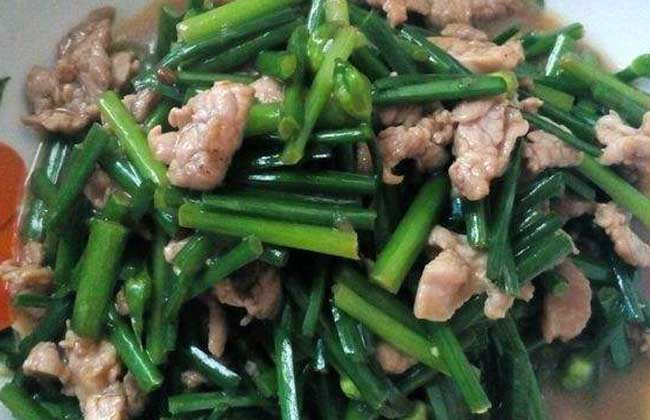 韭菜苔的营养价值