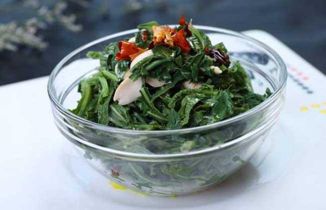 小炒苣荬菜