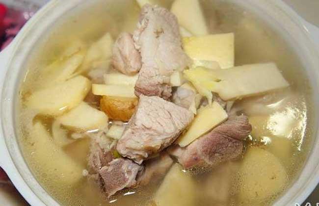 排骨冬笋汤