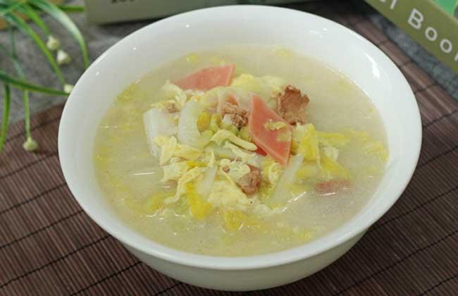 蘑菇三鲜汤的功效及做法