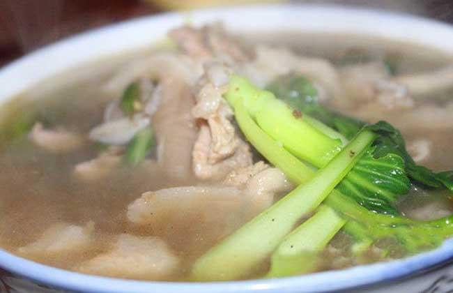 蘑菇三鲜汤