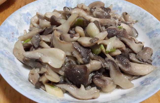 清炒蘑菇的功效及做法