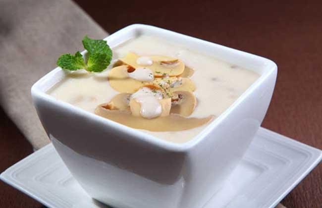 奶油蘑菇汤的功效及做法