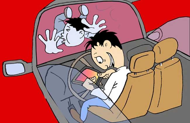梦见开车撞人
