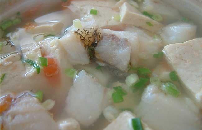 鳕鱼炖豆腐的功效及做法