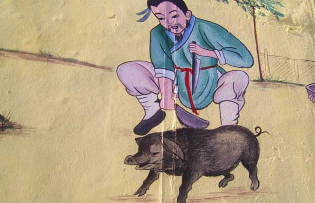 杀猪电击器电路图