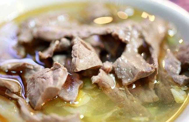 麻油猪心汤