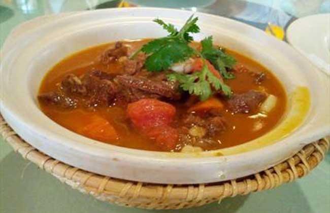红烧牛腩汤