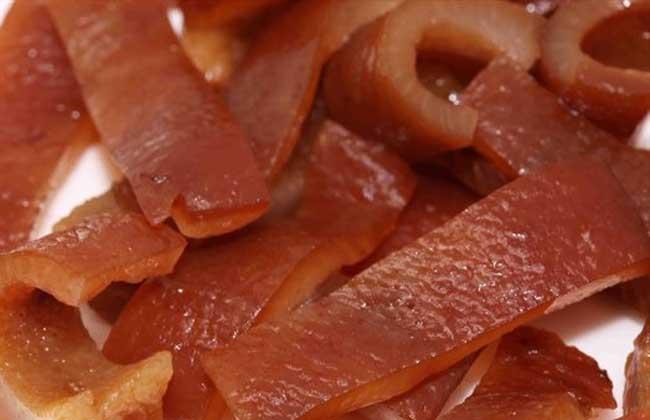 猪皮的营养价值