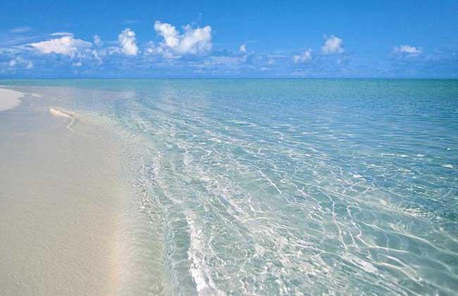 海水为什么是蓝色的