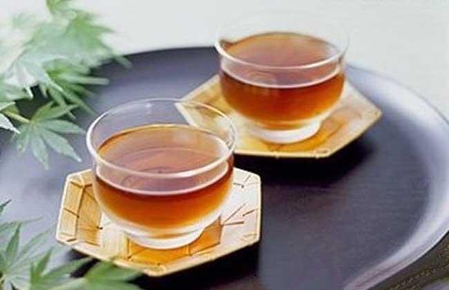 金银花桔皮茶