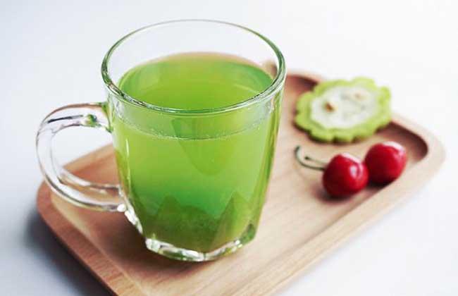 苦瓜汁的功效与作用及禁忌